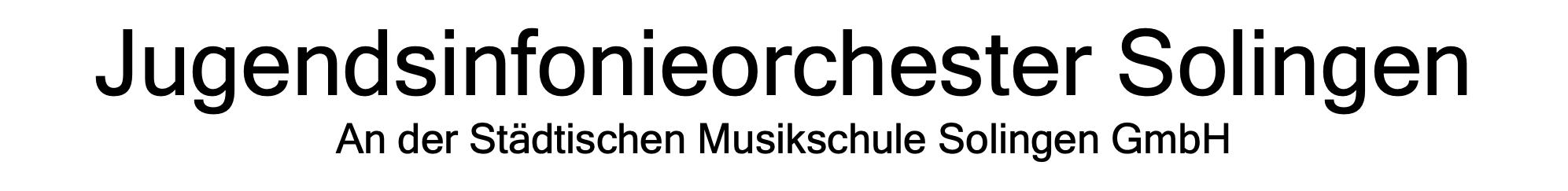 Jugendsinfonieorchester Solingen
